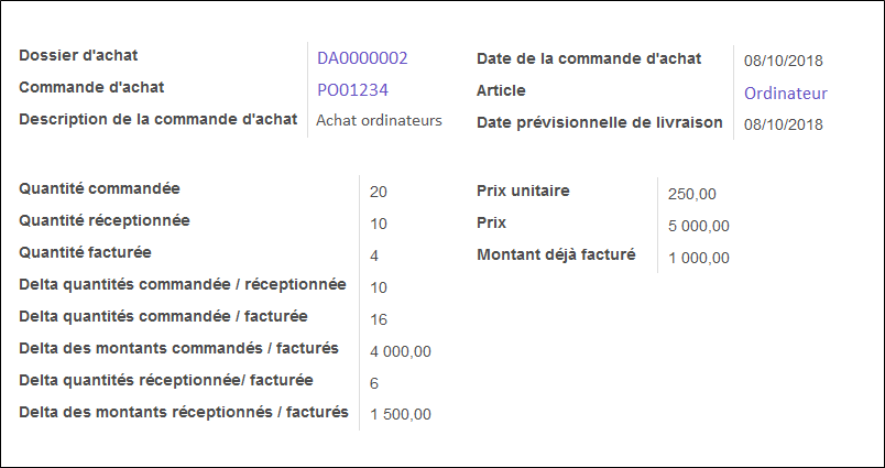 dossier achat tracking fournisseurs odoo consulting